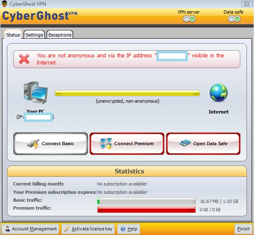 CyberGhost Free VPN Basic Review | Best VPN Reviews 2014